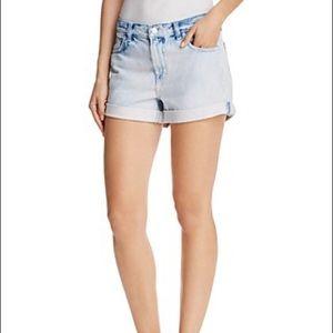 J Brand JohnnyCuffed Denim Shorts in Dazed